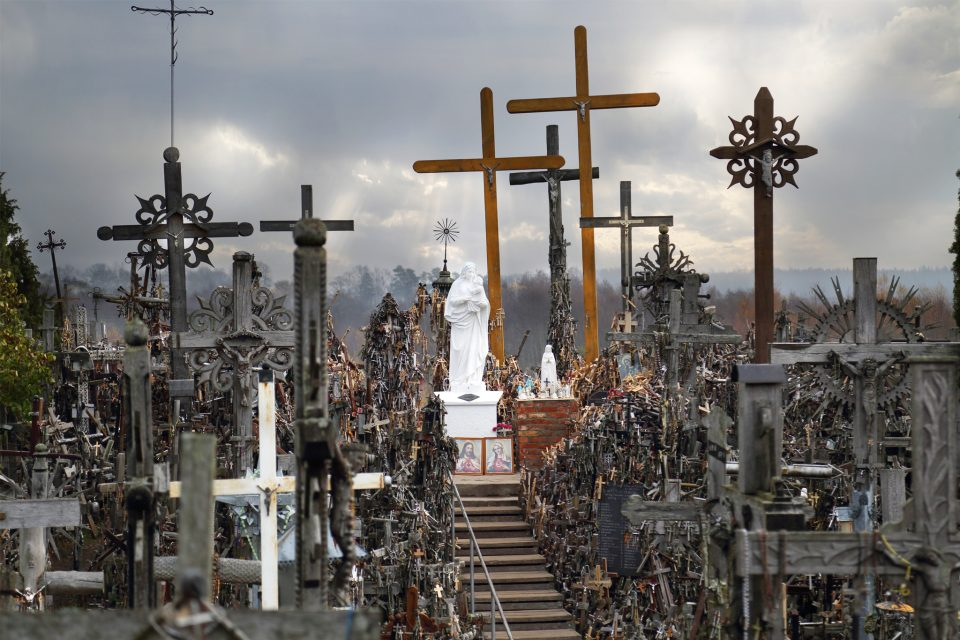 The hill of crosses: sacred or Scary? You get to decide!
