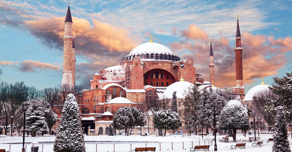 Holiday to Turkey in December to February