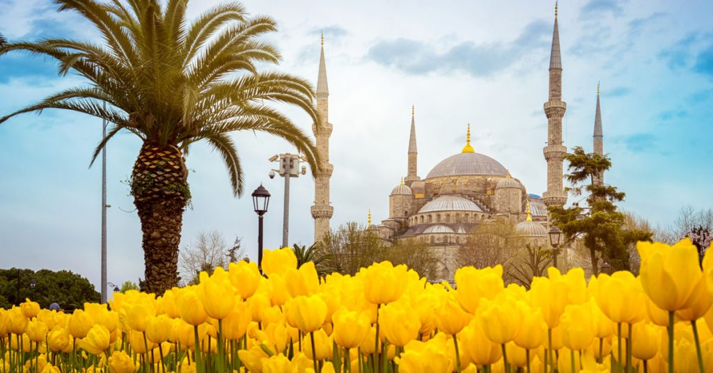 Holiday to Turkey in March to May