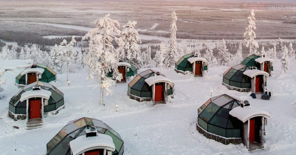The Golden Crown Igloos, Lapland