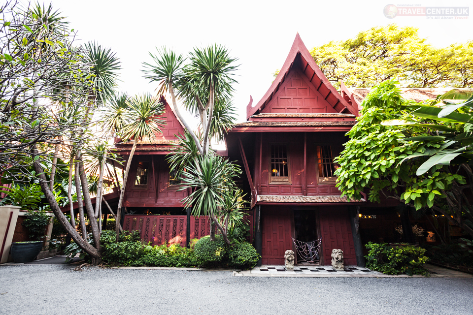 Places to visit in Bangkok - Jim Thompson's House