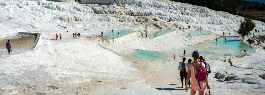 Thermal Springs - Pamukkale