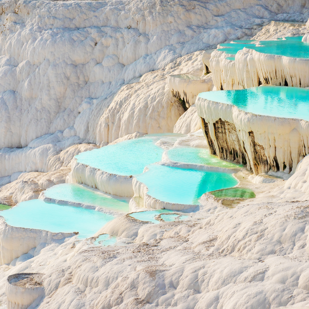 The most beautiful places in the world - Pamukkale, Turkey