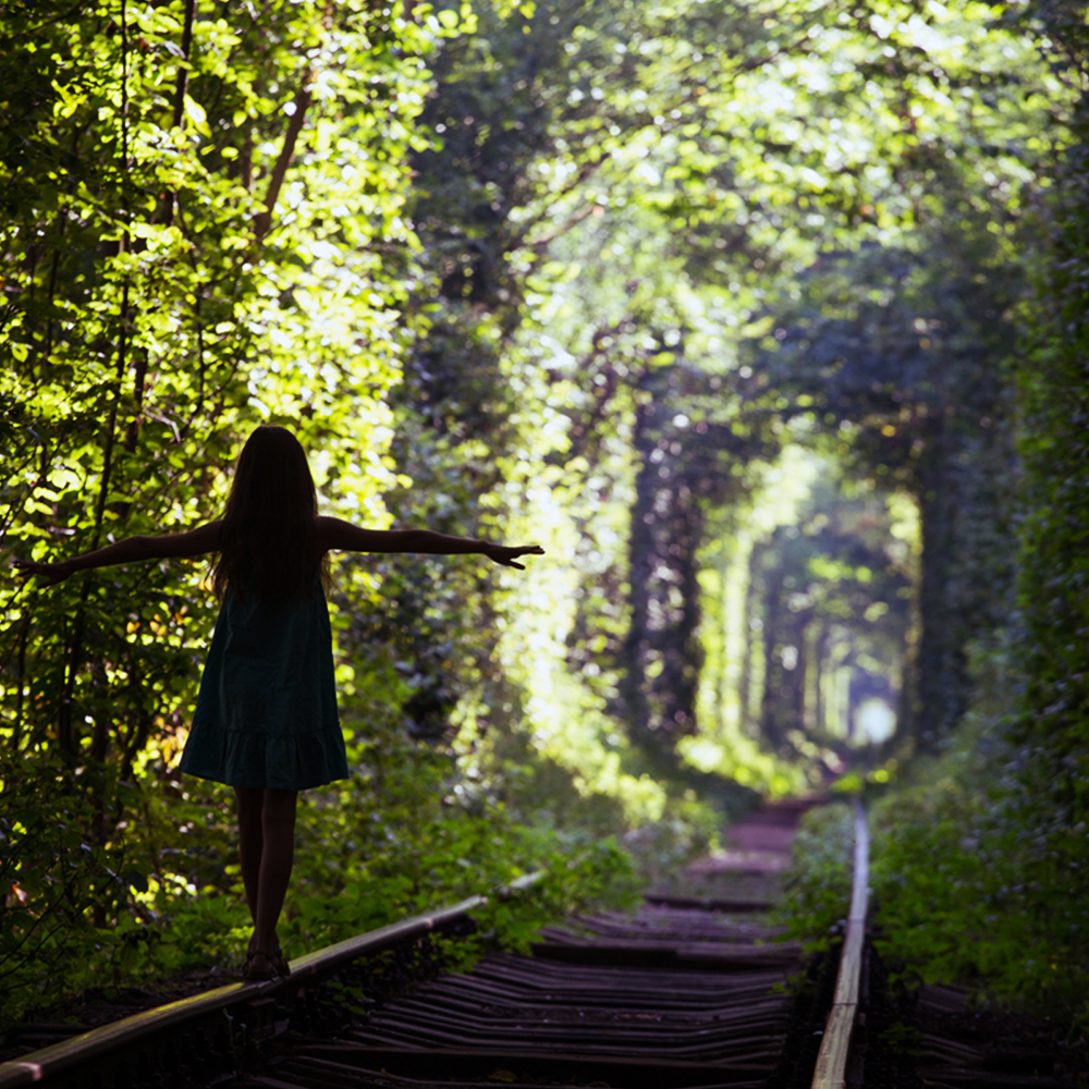 The most beautiful places in the world - The Tunnel of Love, Klevan, Ukraine
