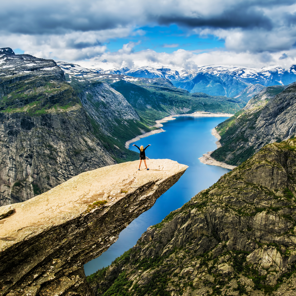 The most beautiful places in the world - Trolltunga, Norway