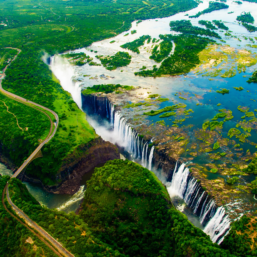 The most beautiful places in the world - Victoria Falls, Zambia
