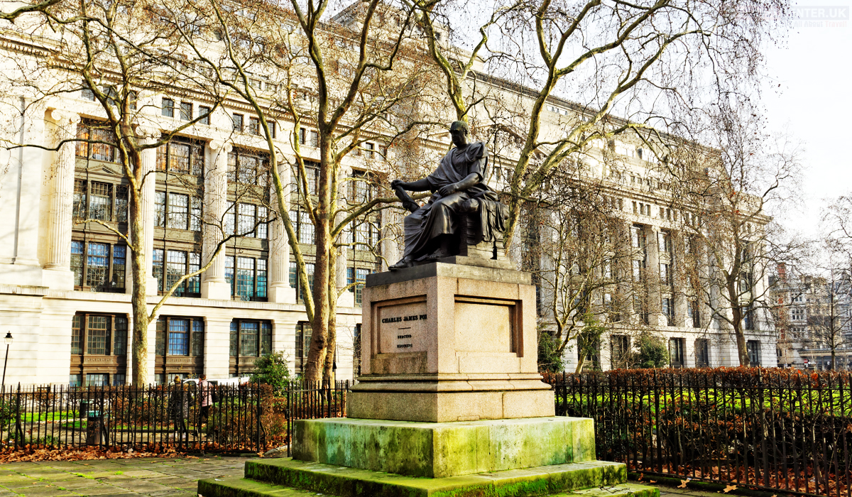 Cities to visit in 2021 - Bloomsbury Square Garden London