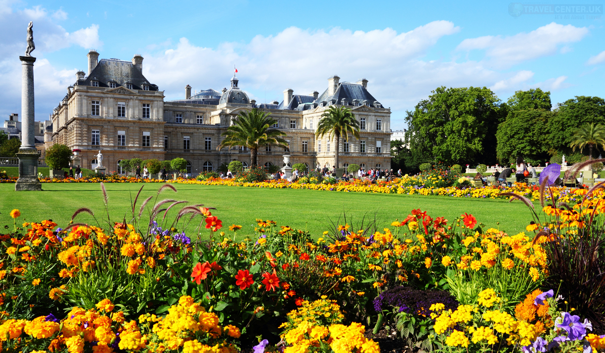 Cities to visit in 2021 - Luxembourg Palace