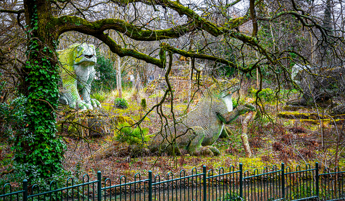 Places in London - Crystal Palace Park Dinosaur Sculptures