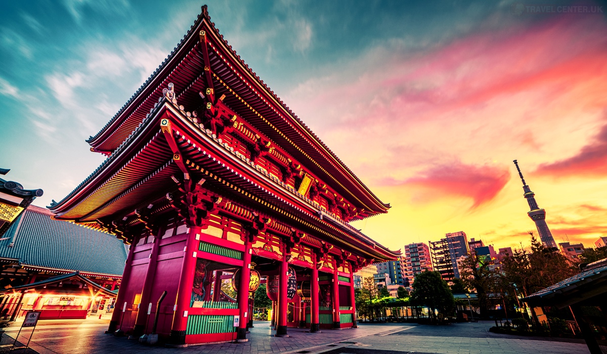 Cities to visit in 2021 - Sensoju Temple