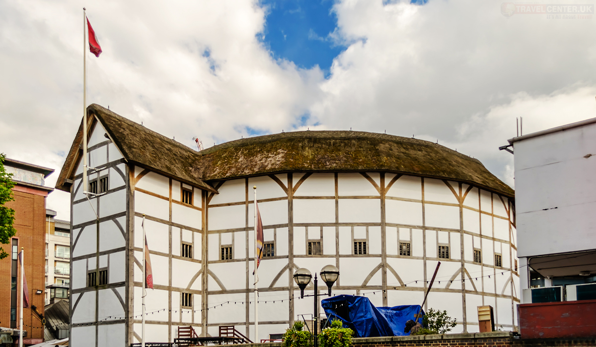 Cities to visit in 2021 - Shakespeare's Globe Theatre in London