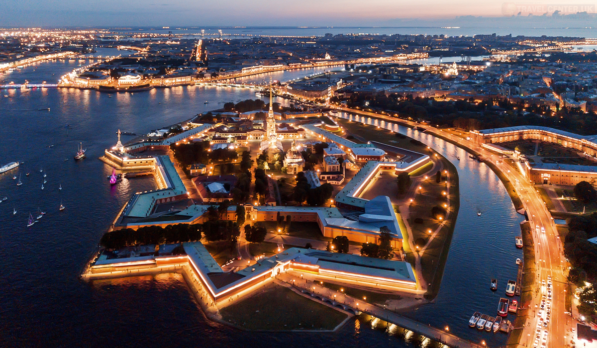 Cities to visit in 2021 - St. Petersburg Peter and Paul Fortress