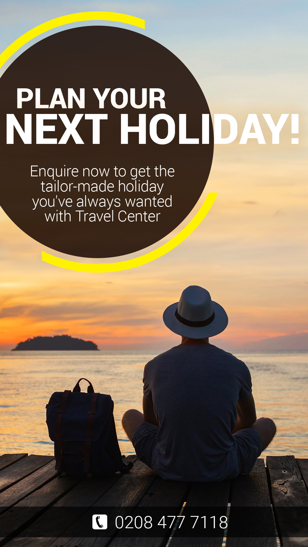 PLAN YOUR NEXT HOLIDAY