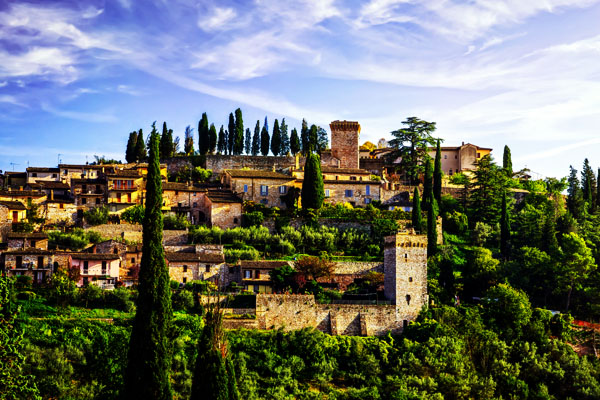 Town of Italy - Spello, Umbria