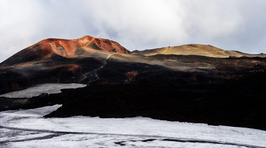 Visiting Iceland - Lava Fields