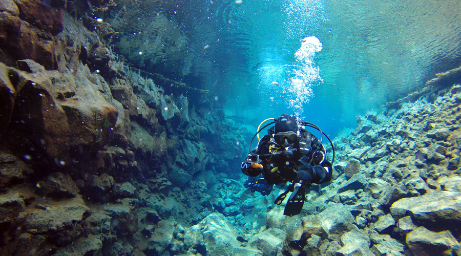 Visiting Iceland - Scuba Diving