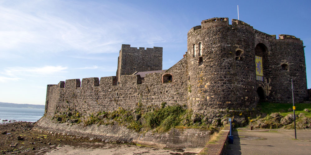 Places to visit in the UK - The Carrickfergus Castle