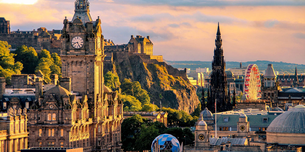 Places to visit in the UK - Edinburgh