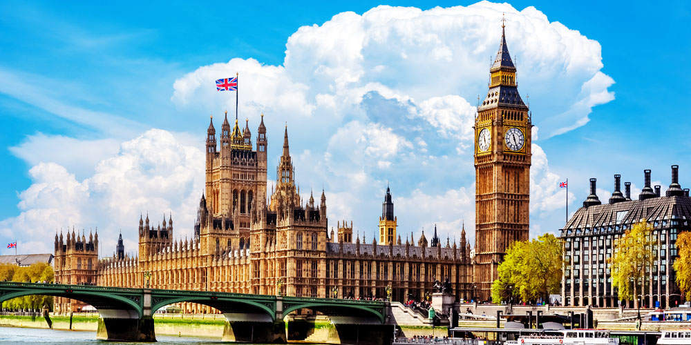 Places to visit in the UK - London