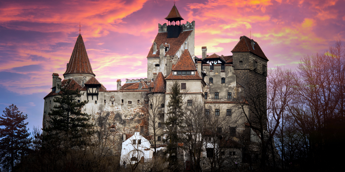 scariest places on earth - Bran Castle